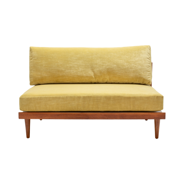 Crosby Settees - Muted Yellow