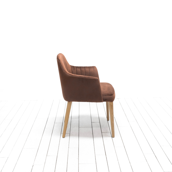Cole Chairs - Cinnamon