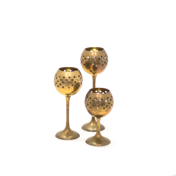Nova Candle Holders - Set of 3