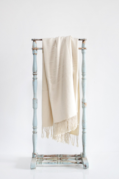 Softest Ivory Throw