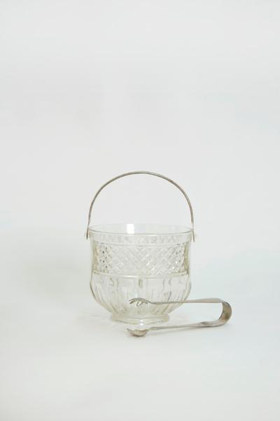 Glass Ice Bucket