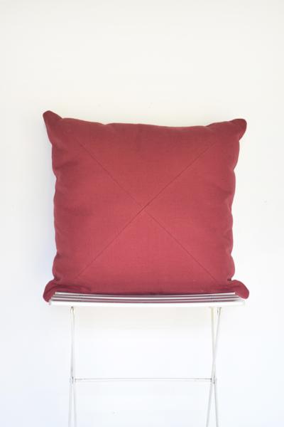 Mauve Woven Pillow