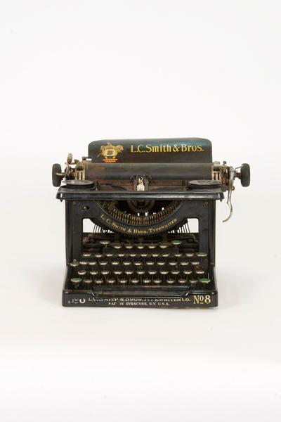 L.C. Smith Typewriter