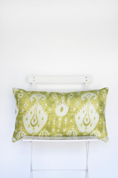 Celedon Kilim Lumbar Pillow