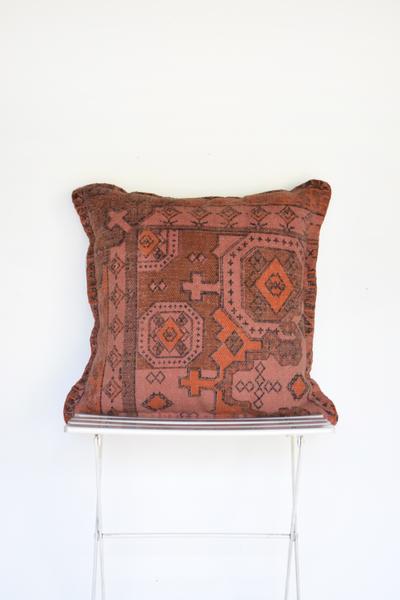 Rust Kiliam Pillow