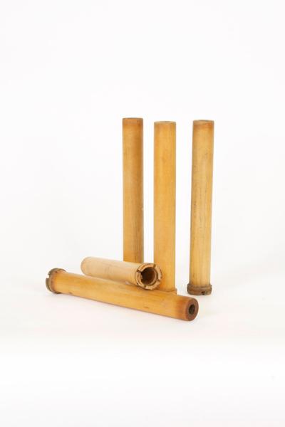 Slender Wooden Spools