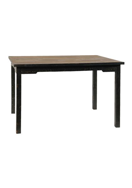 BLACK RUSTIC TABLE