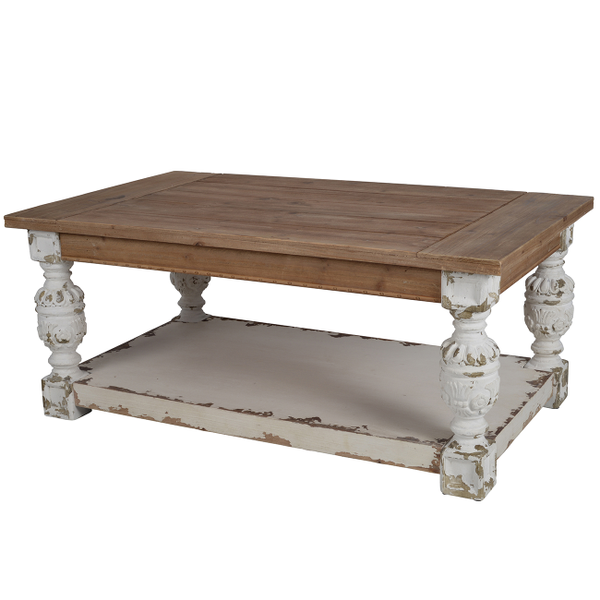 DISTRESSED COFFEE TABLE