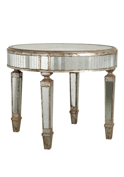 MIRROR MERCURY CAKE TABLE