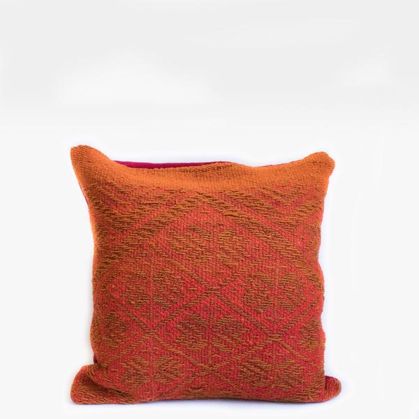 Pillow // Peruvian Orange + Gold