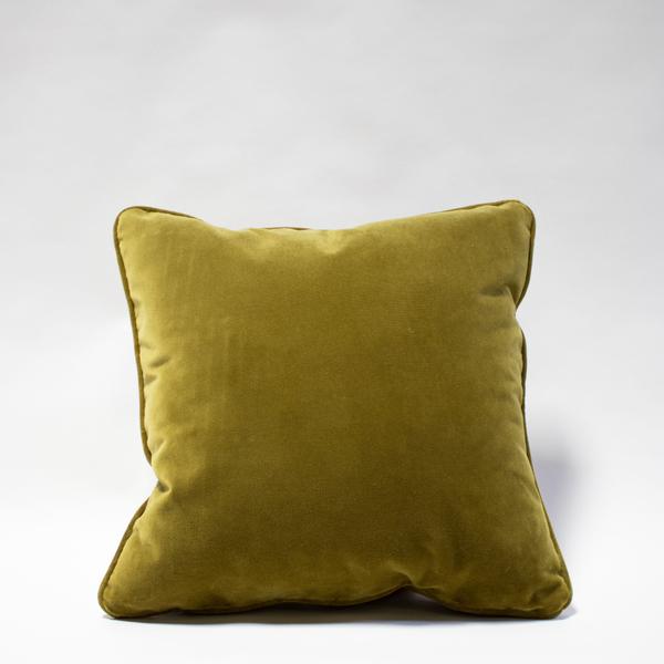 PIllow // Olive Green Velvet
