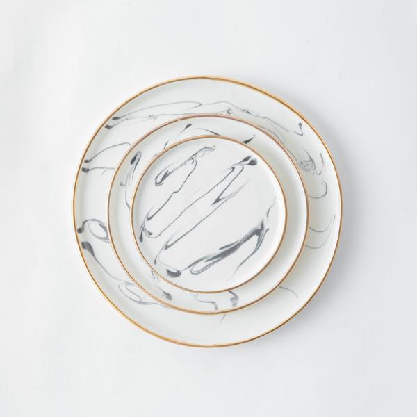 Marbled Ceramic Dishware x Eliana Bernard