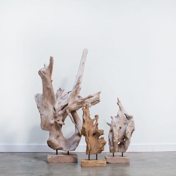 Trenton Teak Sculptures