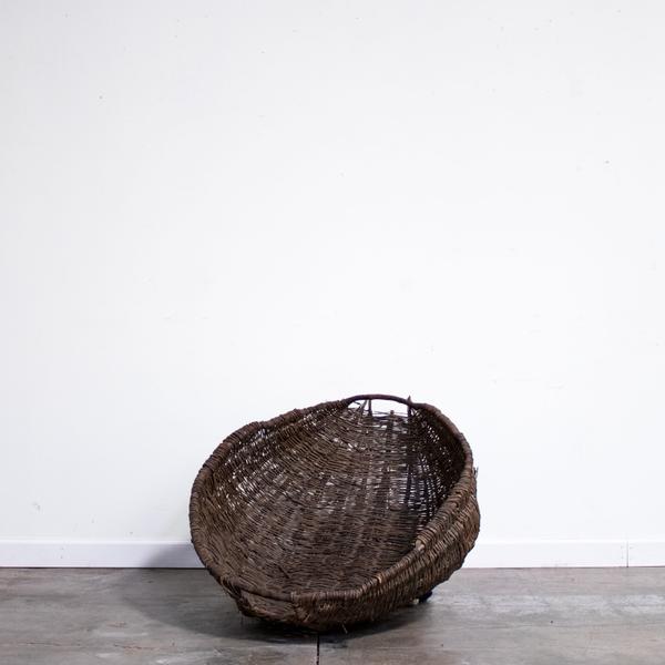 French Wicker Fruit Basket