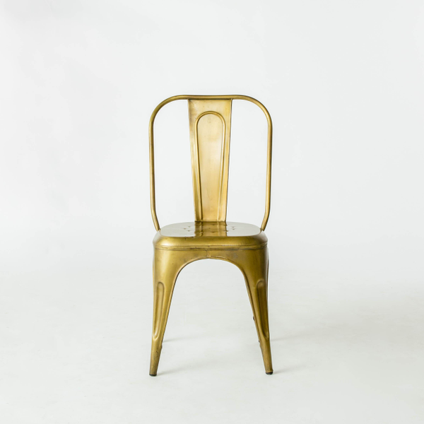 Brass Tolix Chairs
