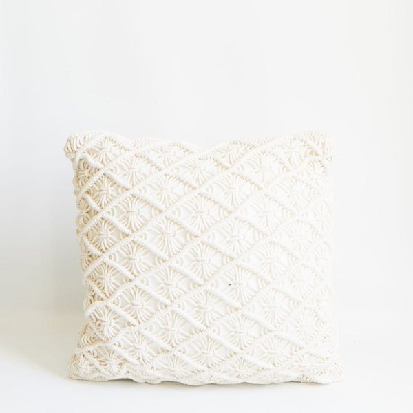 Pillow // Macrame Cream