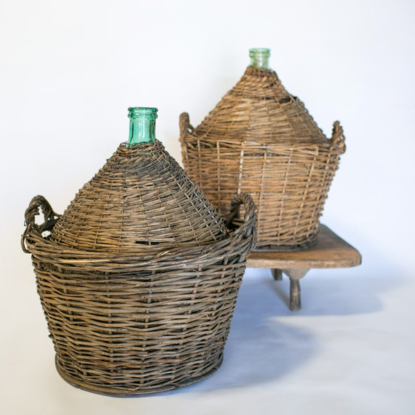 Wicker Basket Demijohn