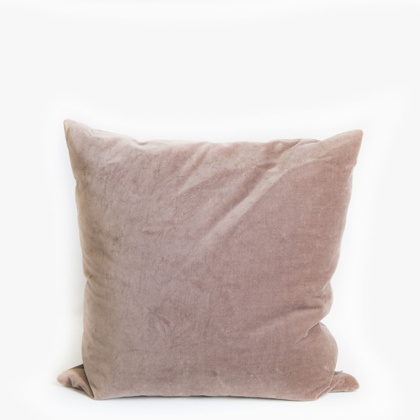 Pillow // Taupe Velvet