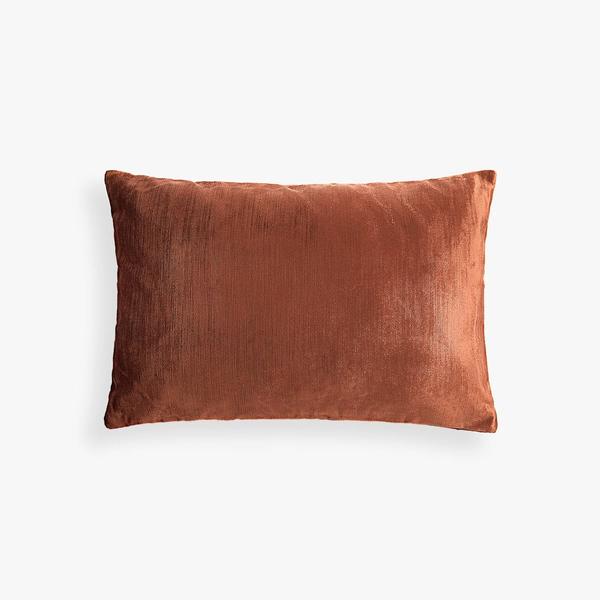 PIllow // Rust Velvet Lumbar