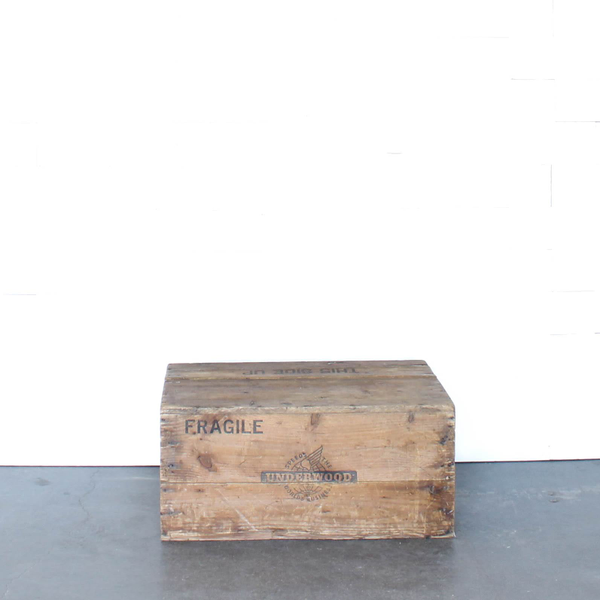 Underwood Shipping Crate