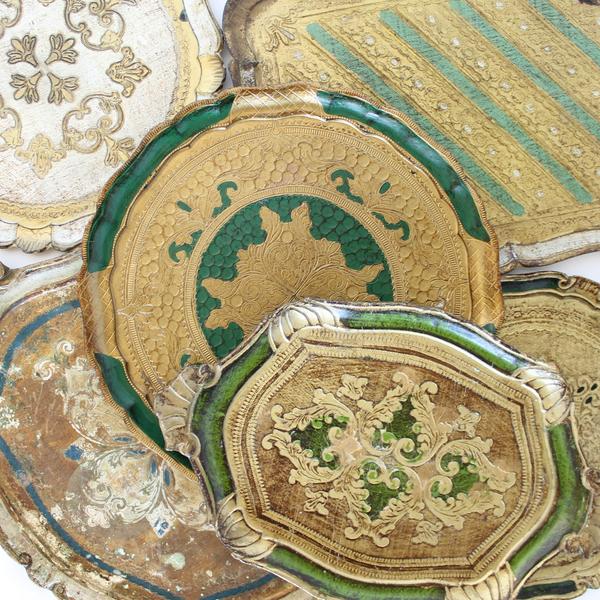Large Florentine Trays