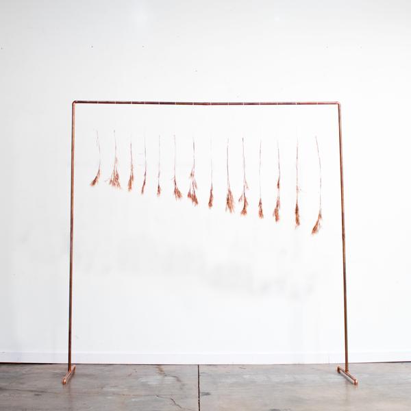 Copper Pipe Backdrop