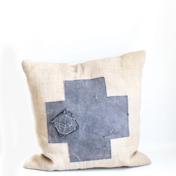 Pillow // Cross Patch Grainsack