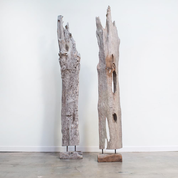 Garrison Teak Sculptures