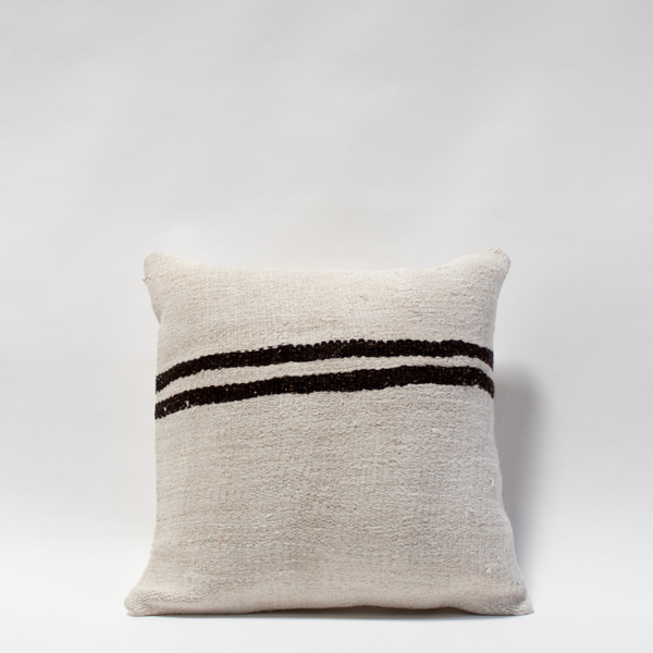 Pillow // Striped Turkish Hemp