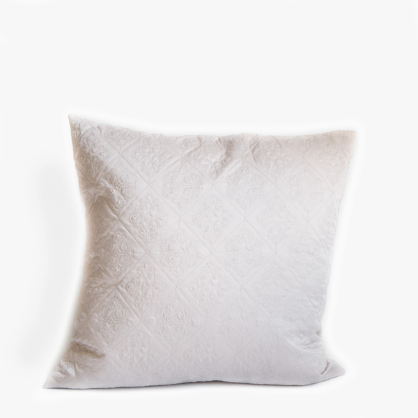 Pillow // Neutral Silk Damask