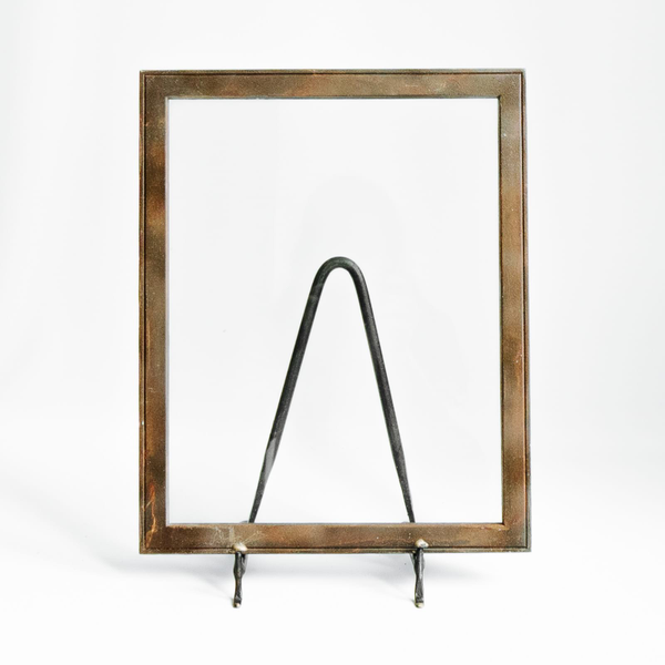 Rusty Floating Frame