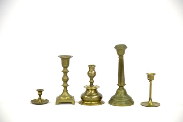 Brass Candlestick Holder (Assorted)