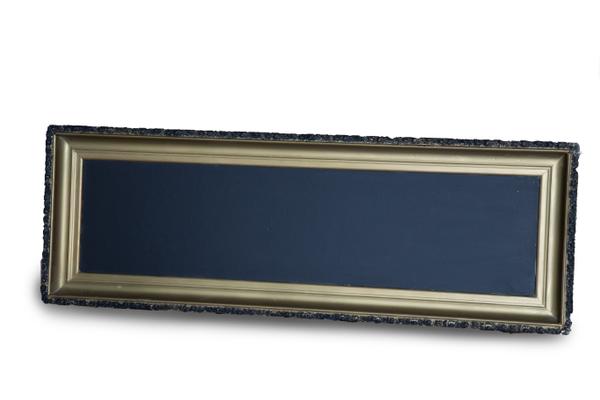 """Gold & Black Chalkboard (16"""" x 48"""")"""