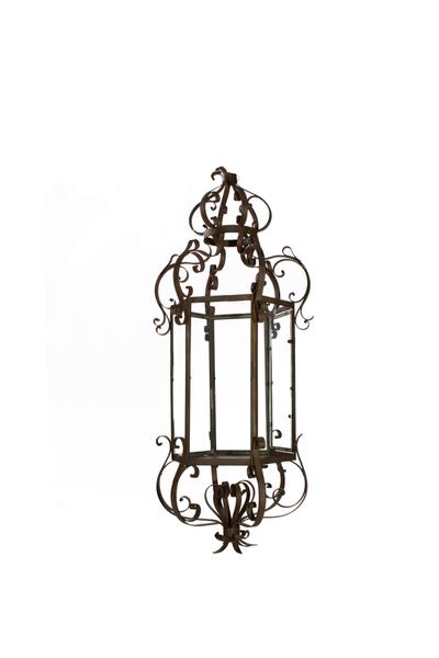 Ornate Metal Hanging Lantern