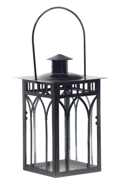 Black Manor Lantern (Tall Square)