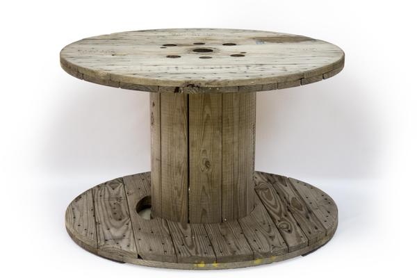Round Spool Table (Medium)
