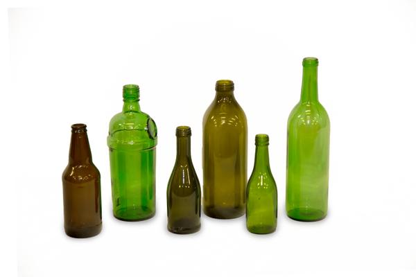 Green & Brown Vases (Assorted Dozen)