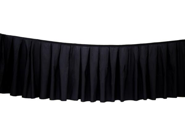 Table Skirting (Black)