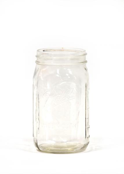 Mason Jar (Wide Mouth Quart)
