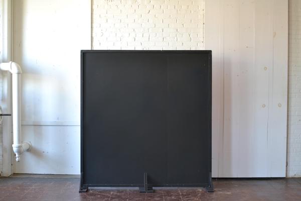 Freestanding black Chalkboard Panel