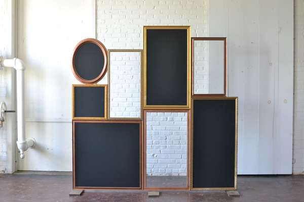 Freestanding Frame Backdrop with Chalkboard Inserts