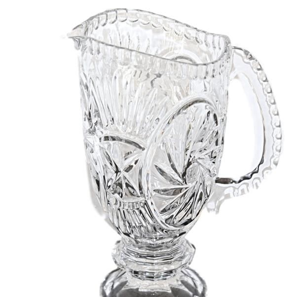 Crystal Pitcher with Handle