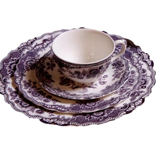 Purple Crown Ducal Bristol Pattern
