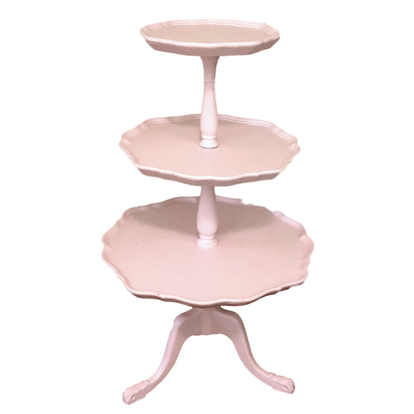 """The Perfect Stand"" 3 Tier Pink Stand"