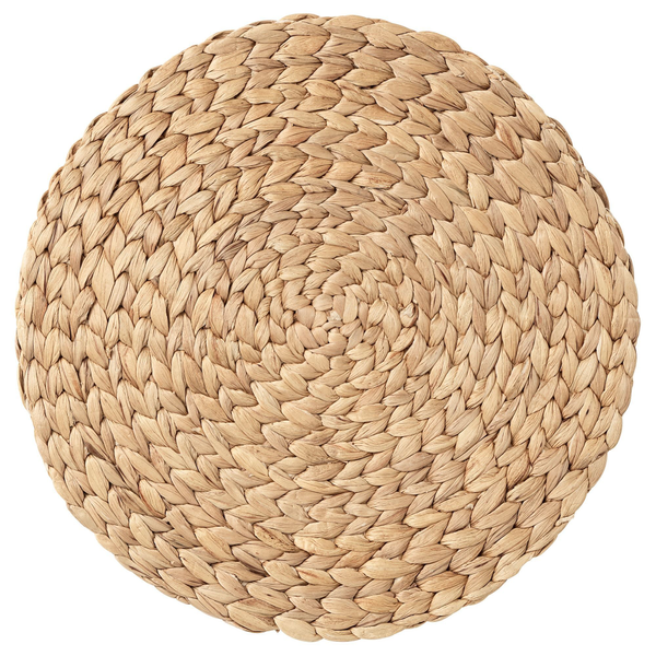 """Woven Round Placemats - 15"""""""