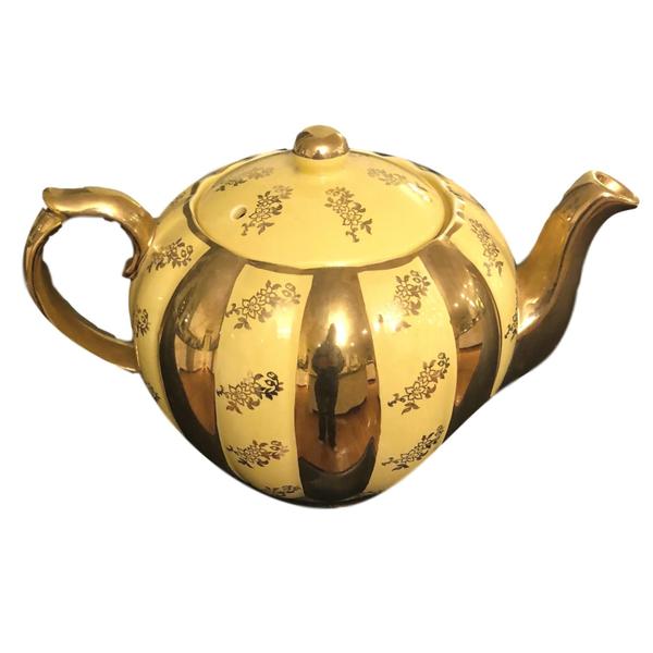 Vintage Marigold Tea Pot