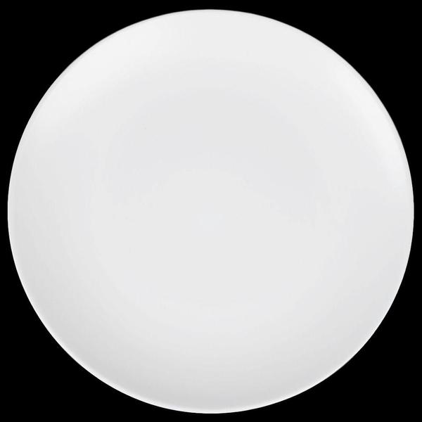 """Matte White Stoneware Large 10. 5""""Large Plates"""