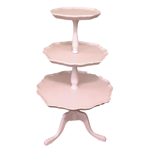 """""""The Perfect Stand"""" 3 Tier Pink Stand"""