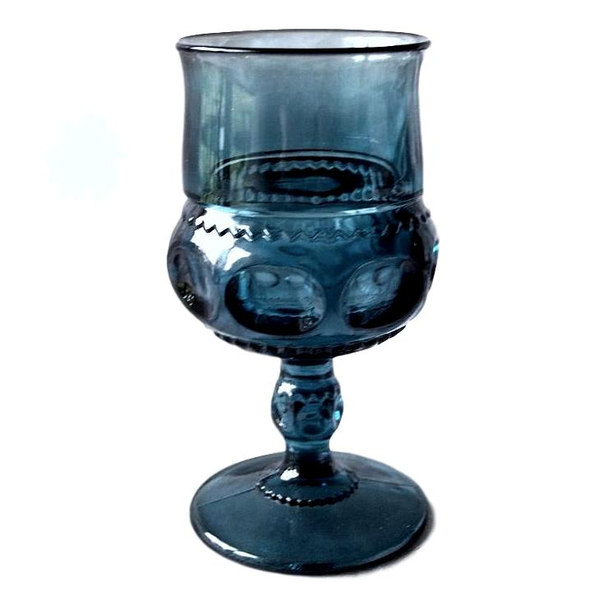 Blue Goblets - Mixed Patterns
