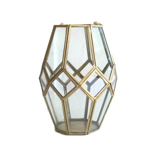 Brass/Gold Octagon Lantern
